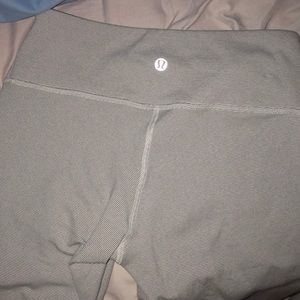 Good condition light Grey & white leggings!